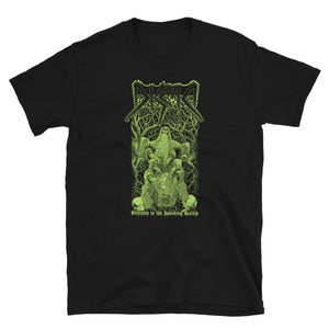 Image of DISMA - SUCCUMB TO THE HAUNTING STENCH,  PUTRID GREEN VARIANT, T-SHIRT