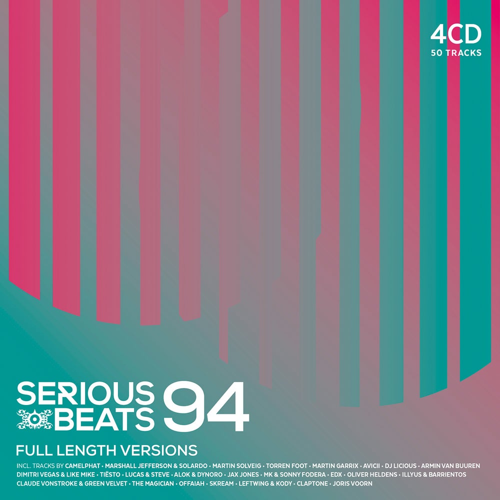 Image of VARIOUS ARTISTS - SERIOUS BEATS 94 (4CD)