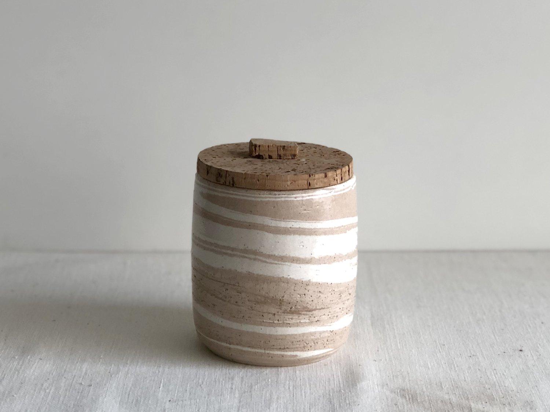 Image of Alentejo marbled pot #1