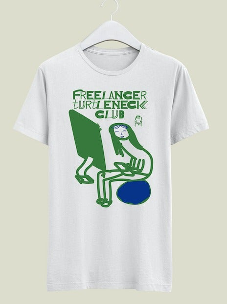 Image of [T shirt] Freelancer Turtleneck Club
