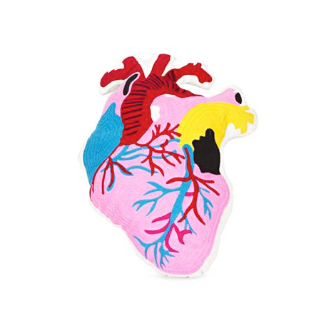Image of COUSSIN BRODÉ CORAZON, KITSCH KITCHEN