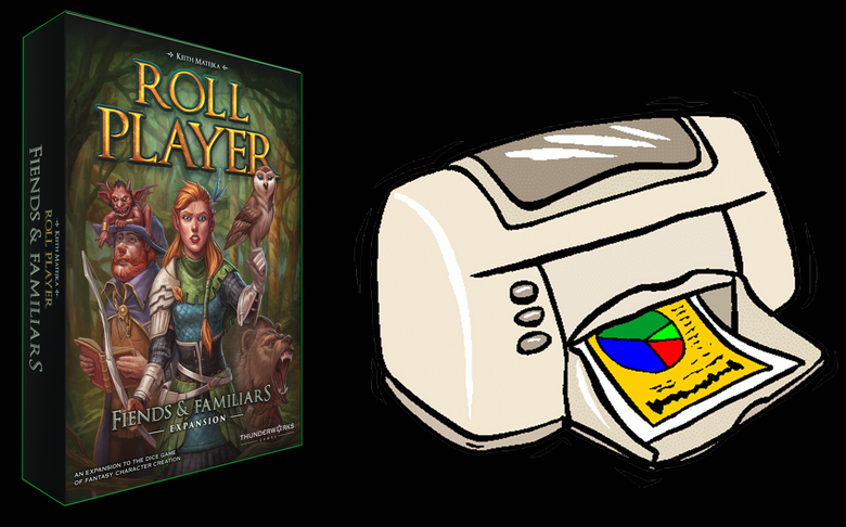 Image of Roll Player: Fiends & Familiars Deluxe Print and Play Version