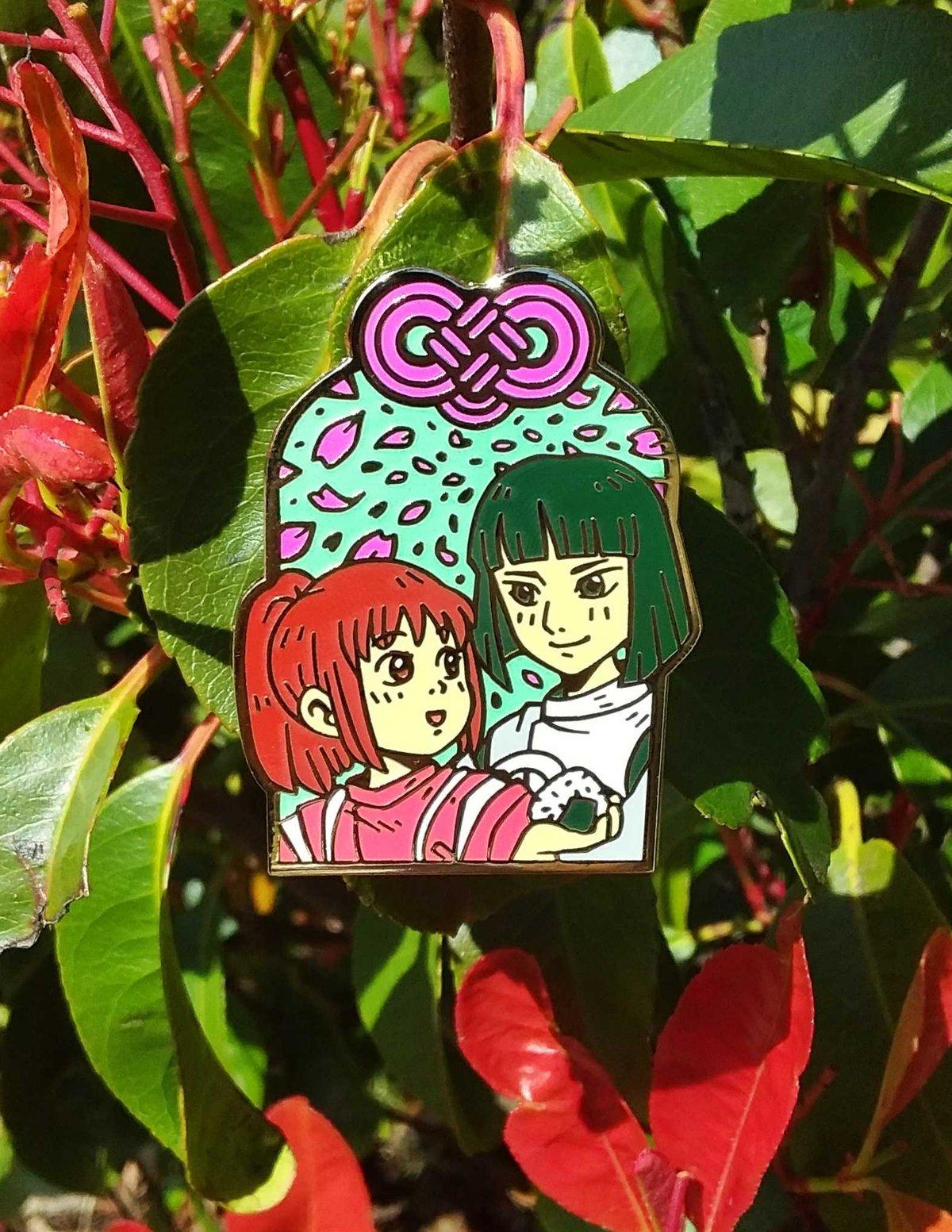 Chihiro and Haku Omamori (Love luck)
