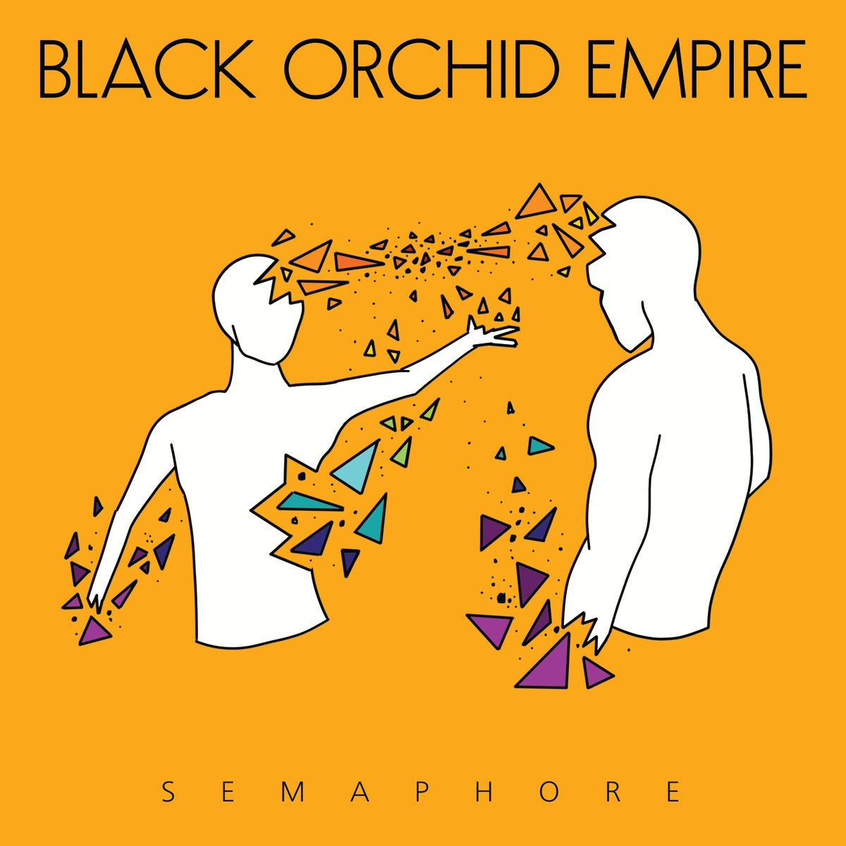"Image of Black Orchid Empire ""Semaphore"" CD"