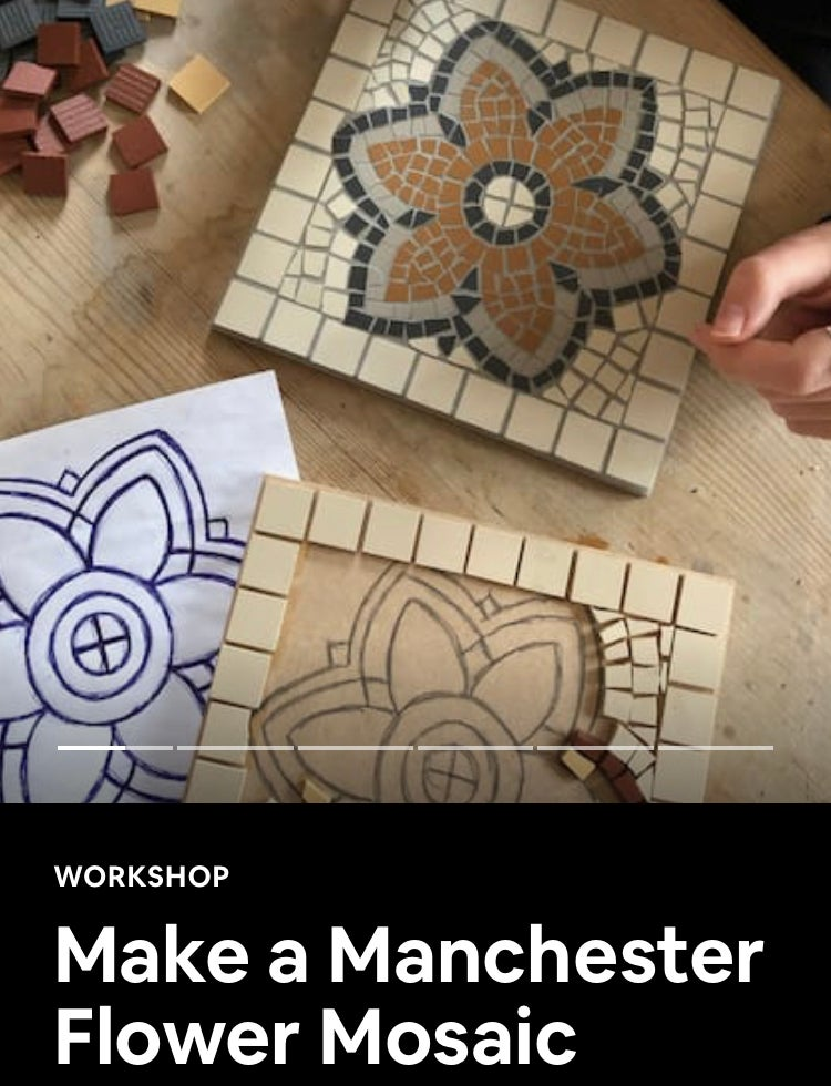 Image of MANCHESTER FLOWER MOSAIC GIFT EXPERIENCE
