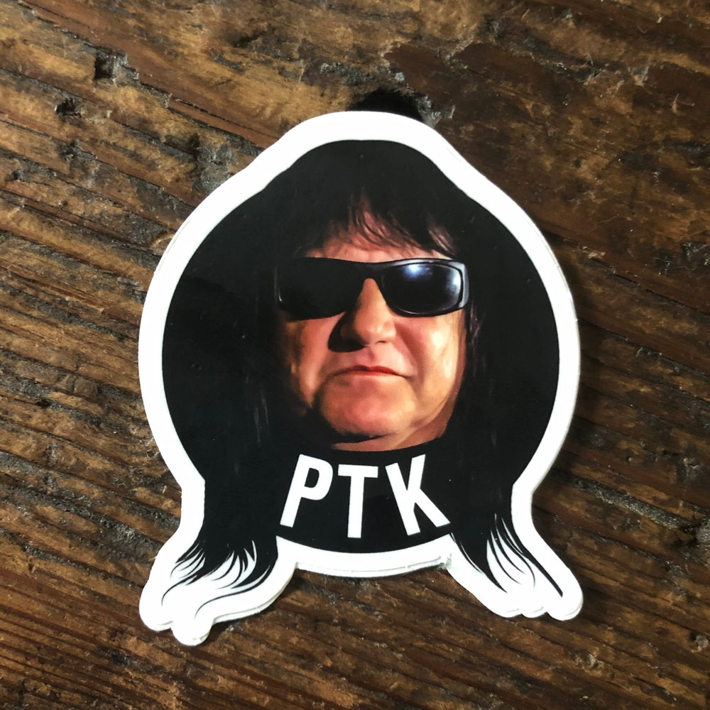Image of PHIL THOMAS KATT STICKER 🕶️