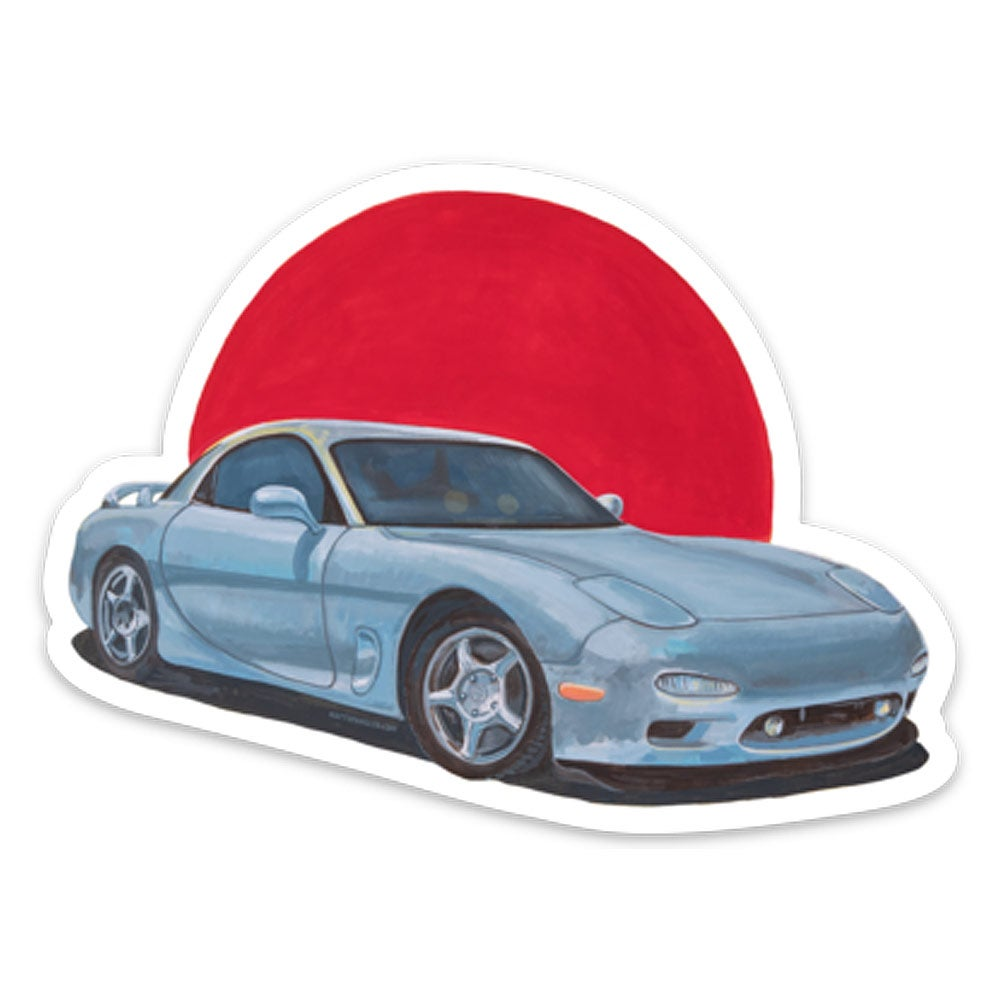 Image of Prescription {RX-7} Sticker