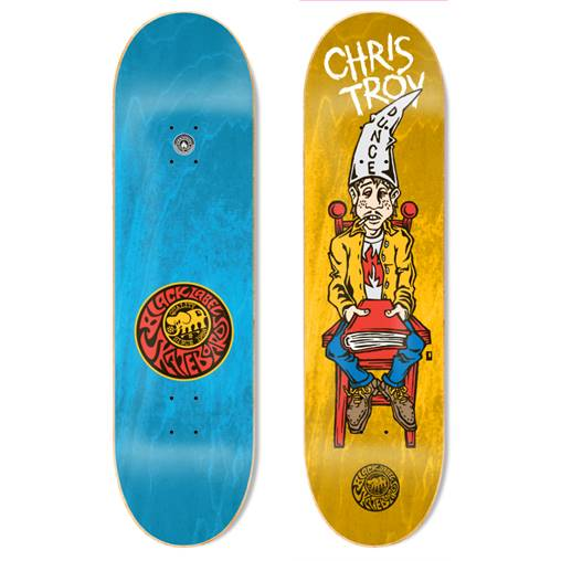 "Image of Chris Troy ""Dunce"" 8.5″ x 32.38″deck"
