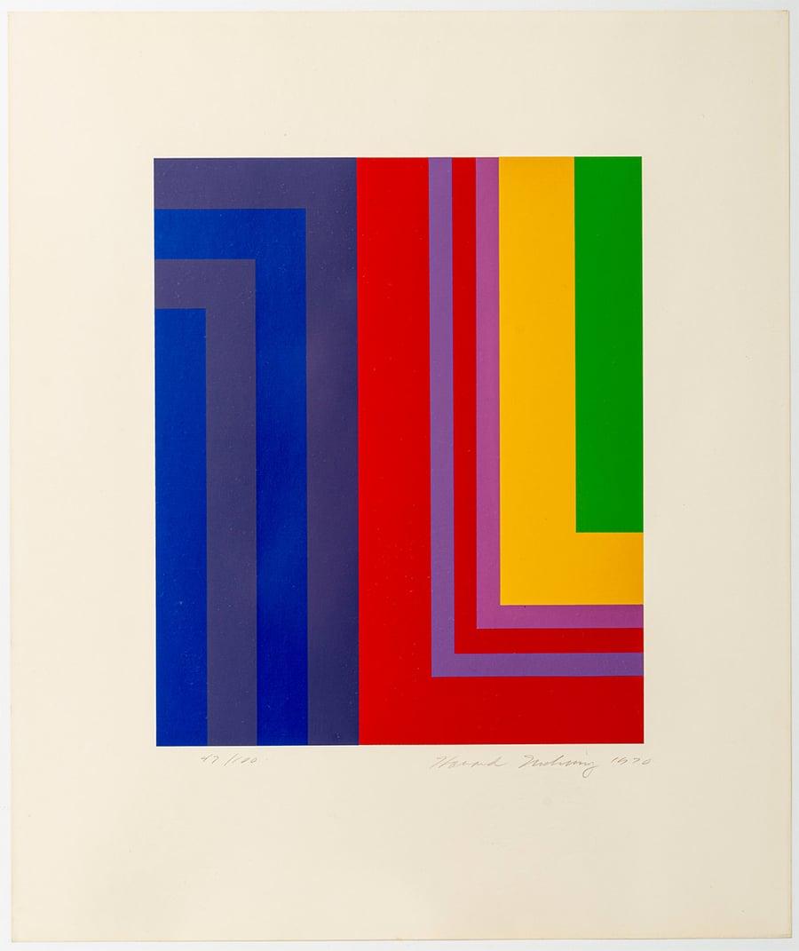 Image of Howard Mehring, 'Untitled', 1970, # 47 / 100