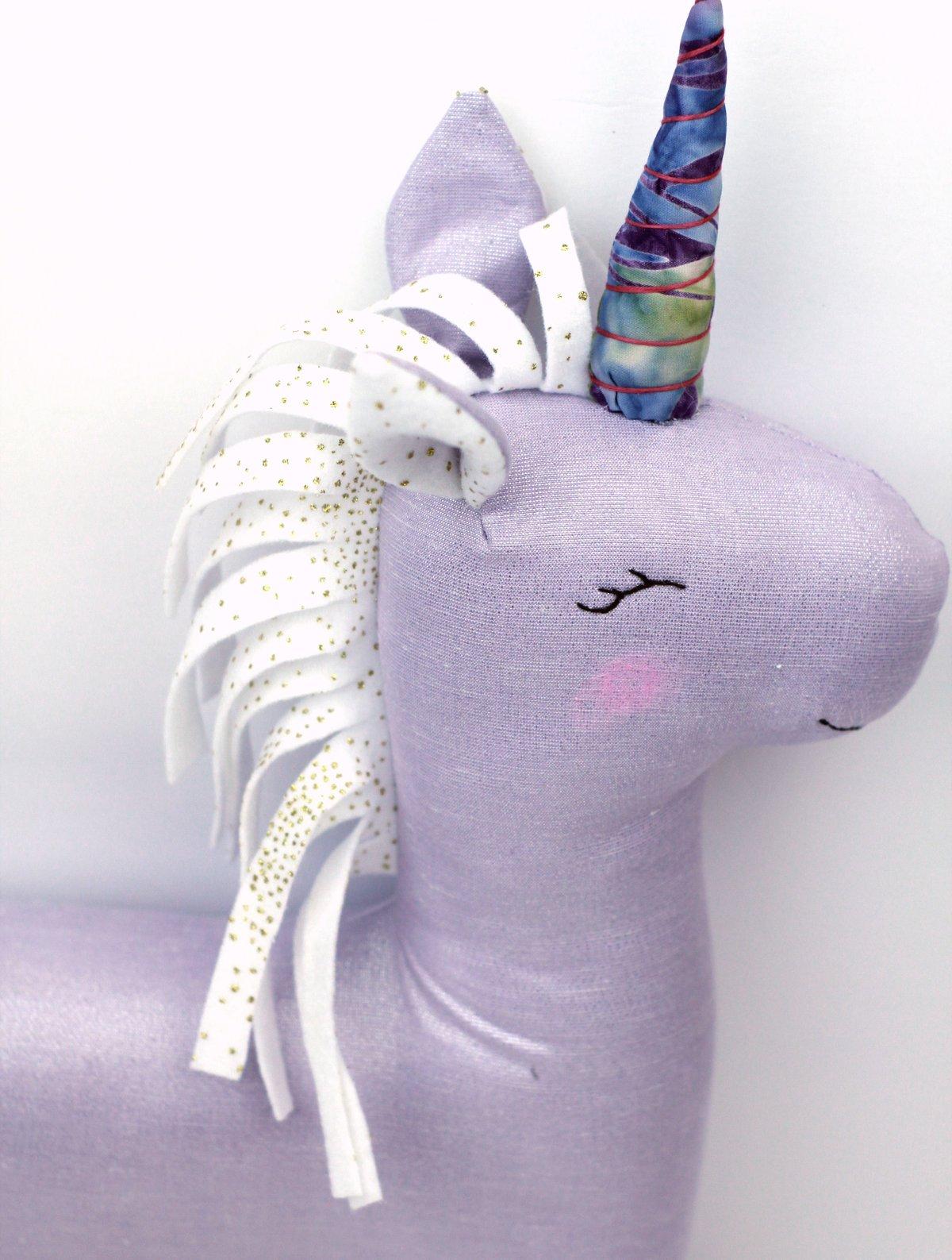 Image of NEW! Magical Unicorn PDF Sewing Pattern
