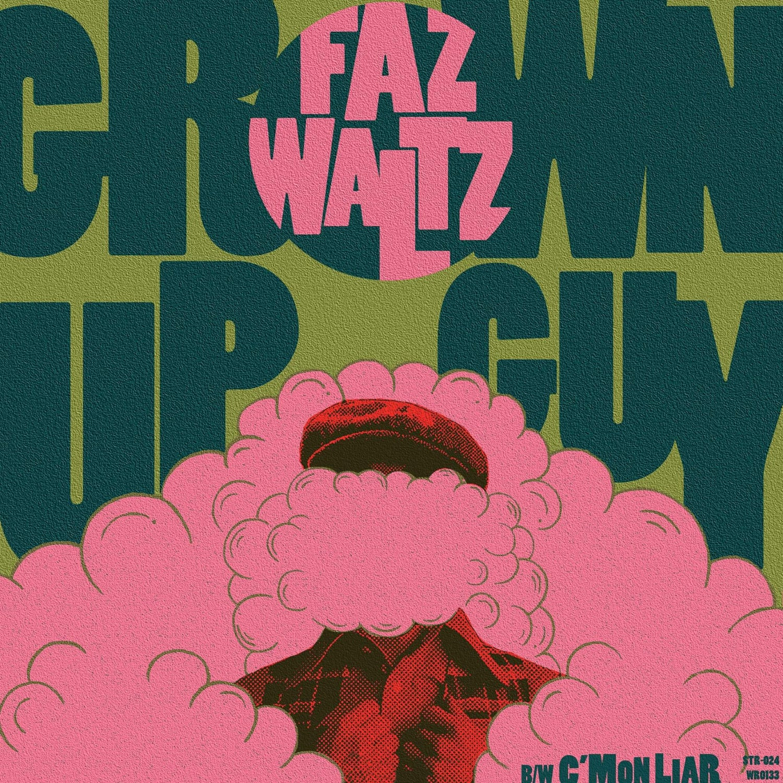 "Image of Faz Waltz ""Grown Up Guy"" vinyl single"