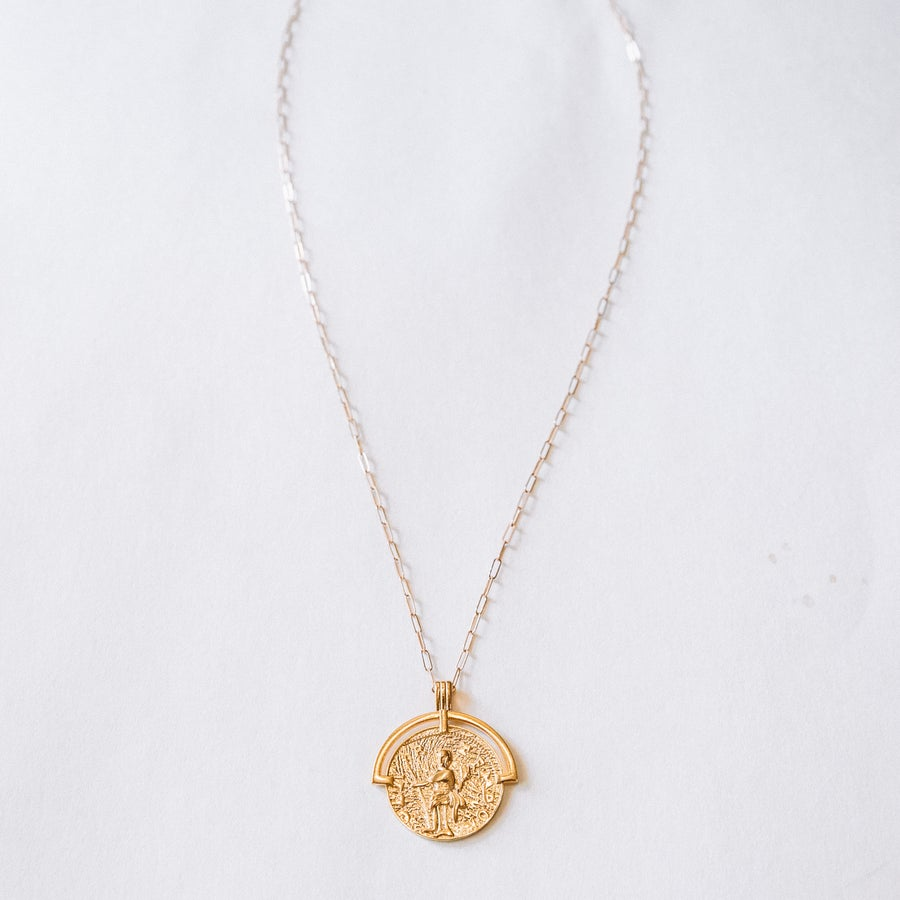 Image of The Gold Medallion Necklace