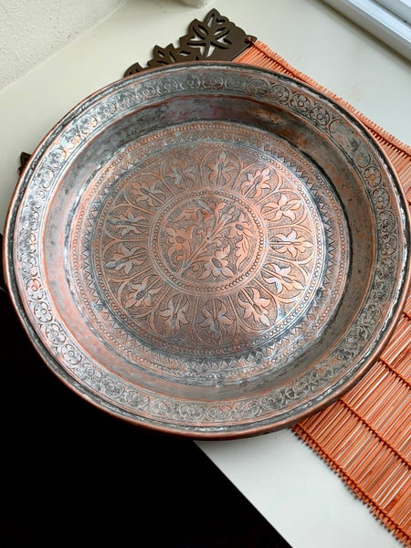 Image of Vintage Traditional Paraat (round tray)
