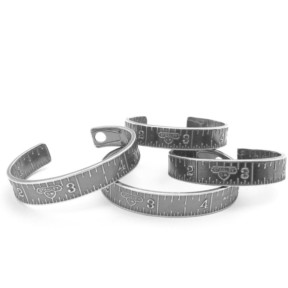 Image of Sterling Stanley Sweetheart cuff bracelet