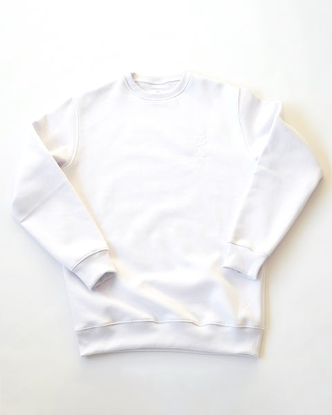 Image of Reflective Calli Crewneck