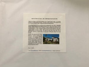 """Image of LL45 - 11X14 Reprint """"Before the Freeze"""" Bob White Citrus Packing Plant"""