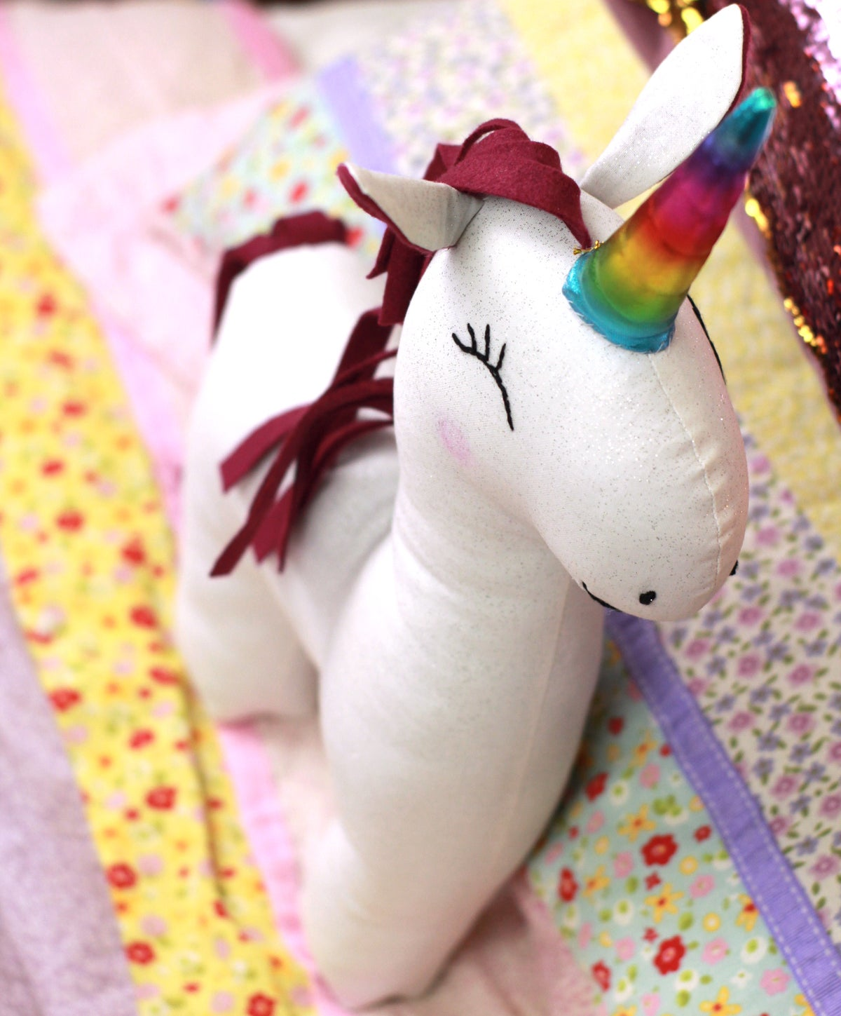 Image of NEW! Magical Unicorn PDF Sewing Pattern