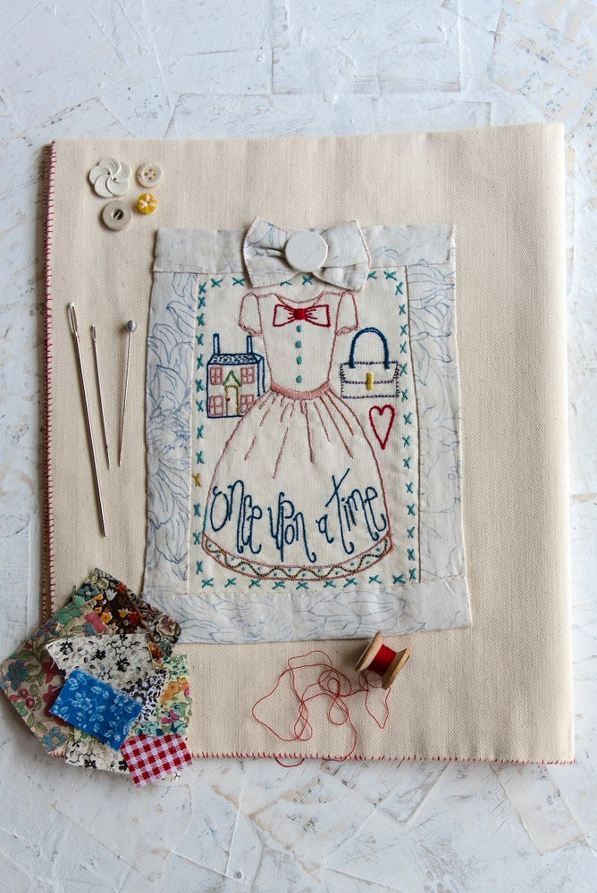 Image of 'Little Dress' embroidery template