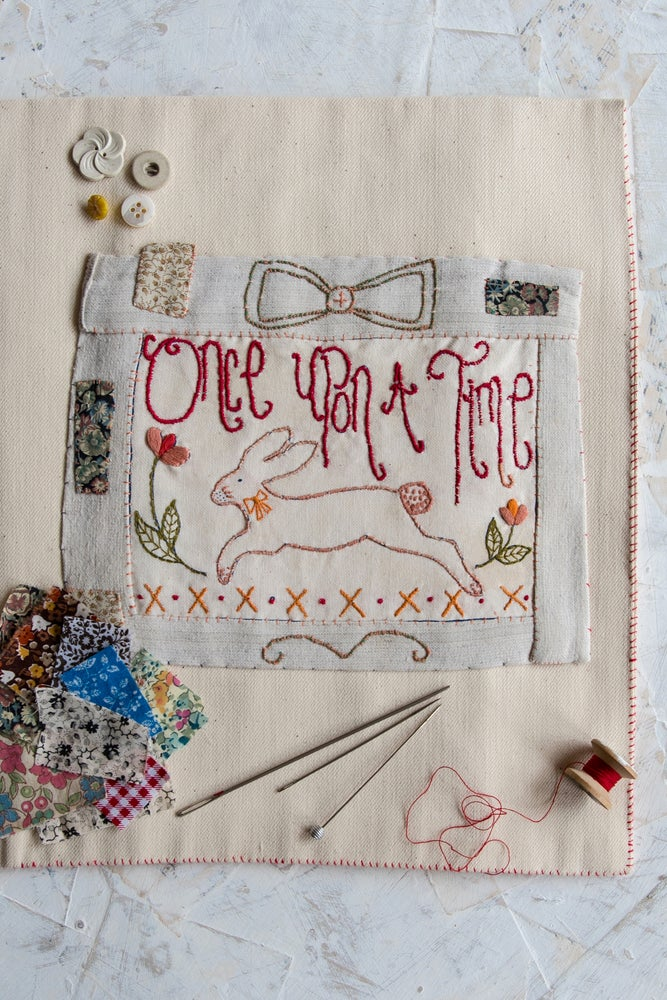Image of 'Once Upon A Time' embroidery template
