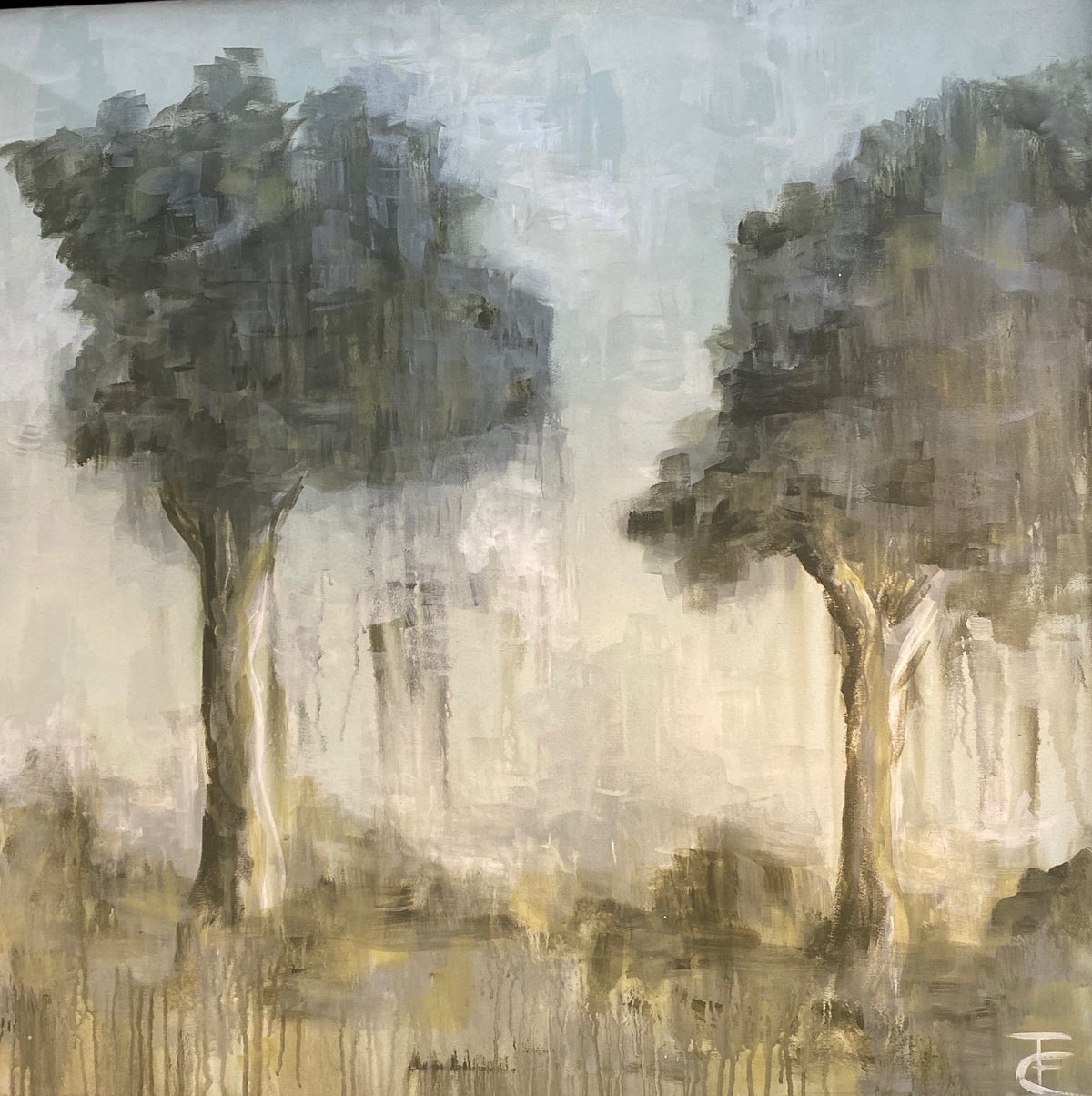 Image of ABSTRACT TREE LANDSCAPE
