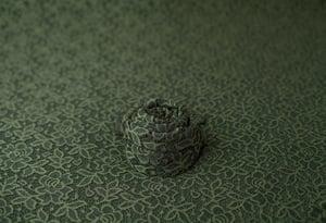 Image of Adriana Lace Backdrop - olive