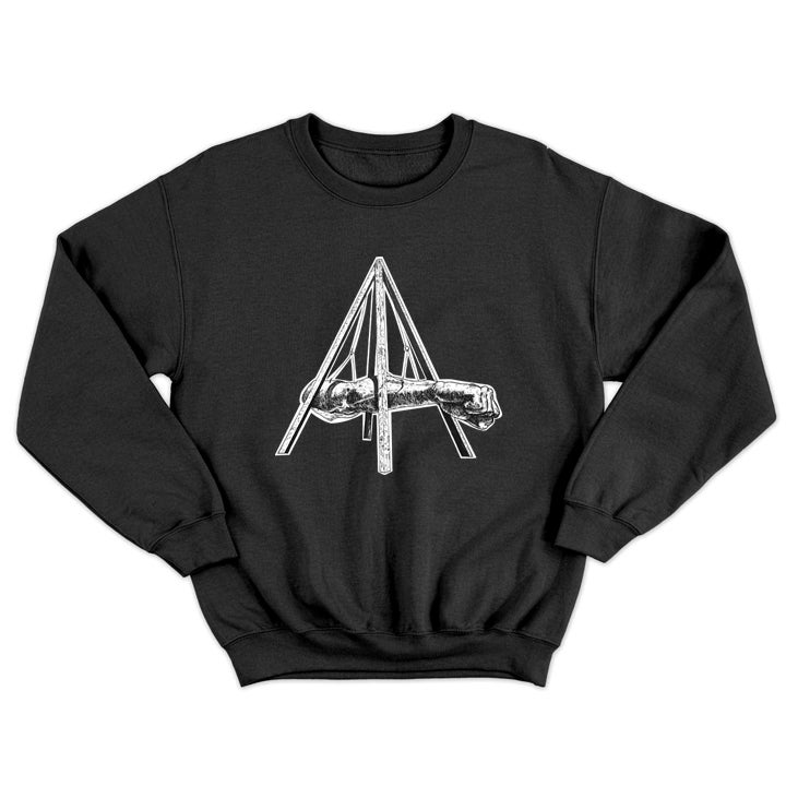 Image of Champ Crewneck Sweatshirt Black