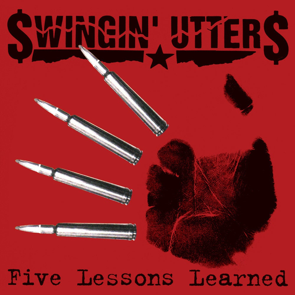 Image of *BACK IN STOCK* Swingin' Utters - Five Lessons Learned LP
