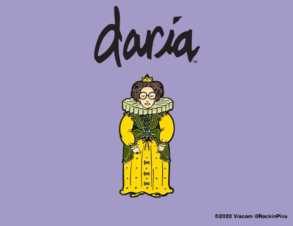 Image of Daria - Queen Daria Enamel Pin