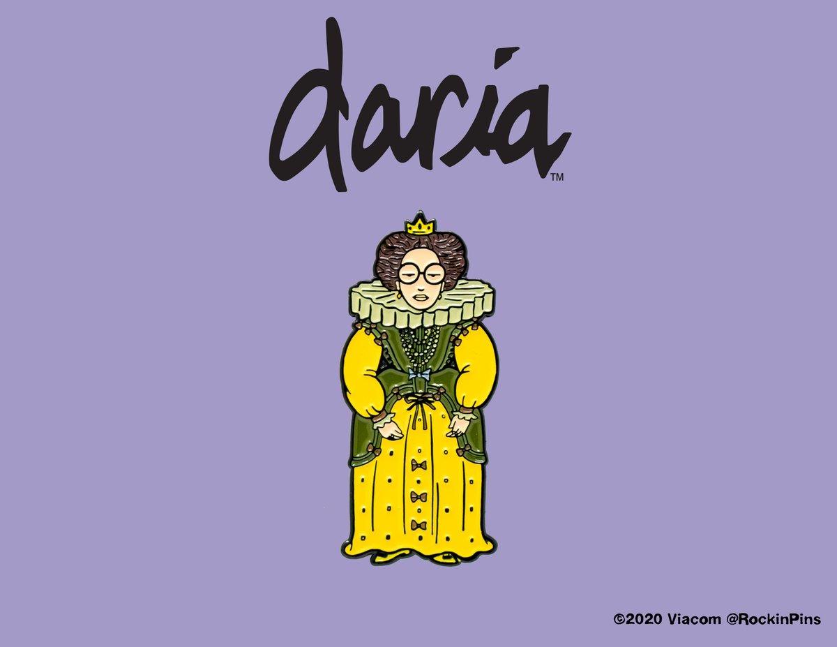 Image of Daria - Queen Daria Enamel Pin