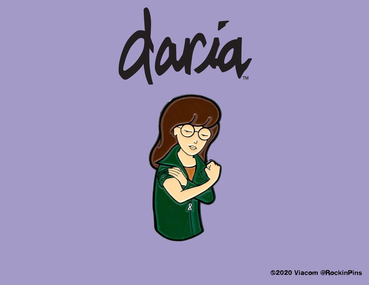 Image of Daria - Daria Flex Enamel Pin