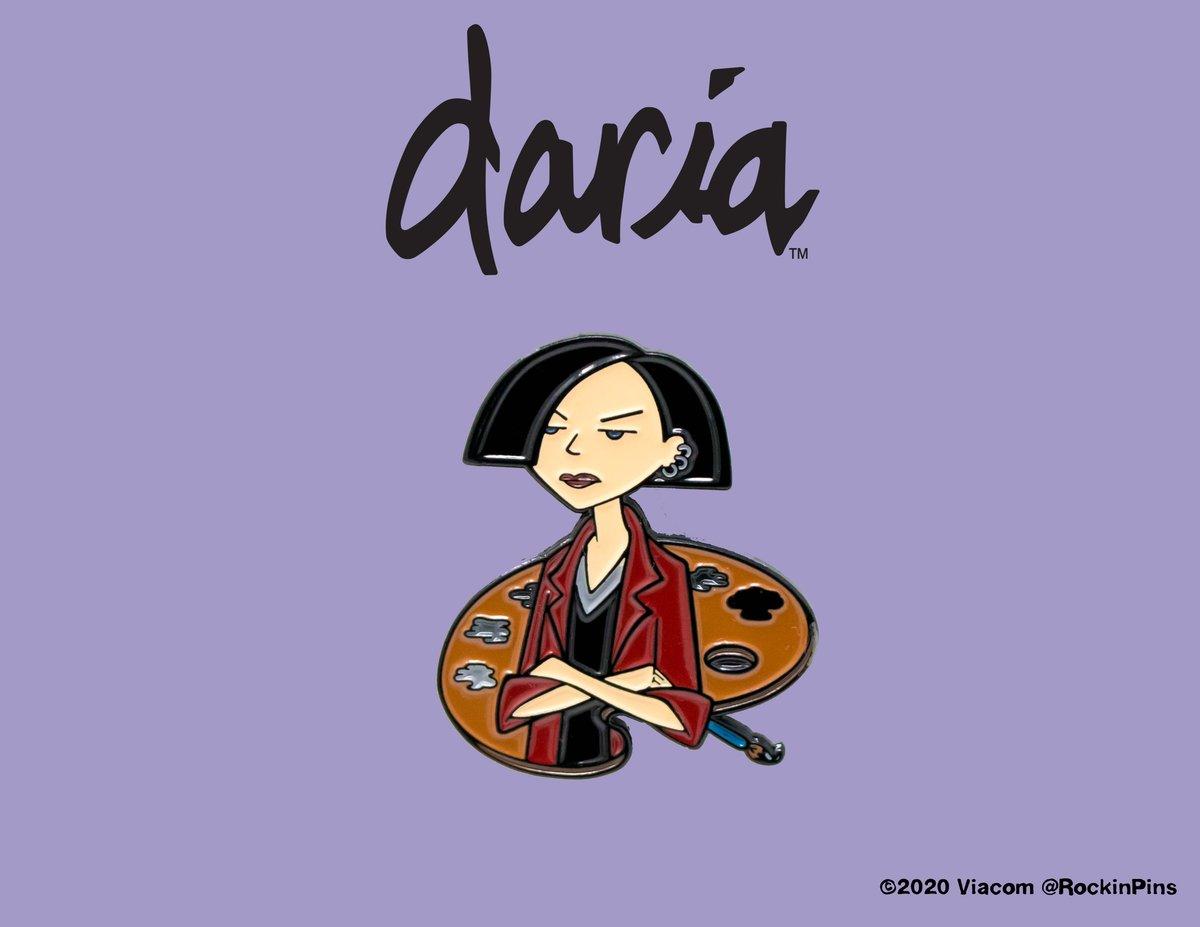 Image of Daria - Jane Lane Painter Enamel Pin
