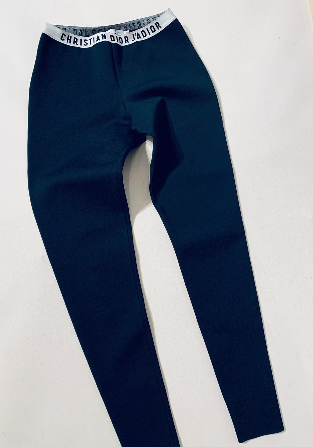 Image of DIOR MID RISE LEGGINGS
