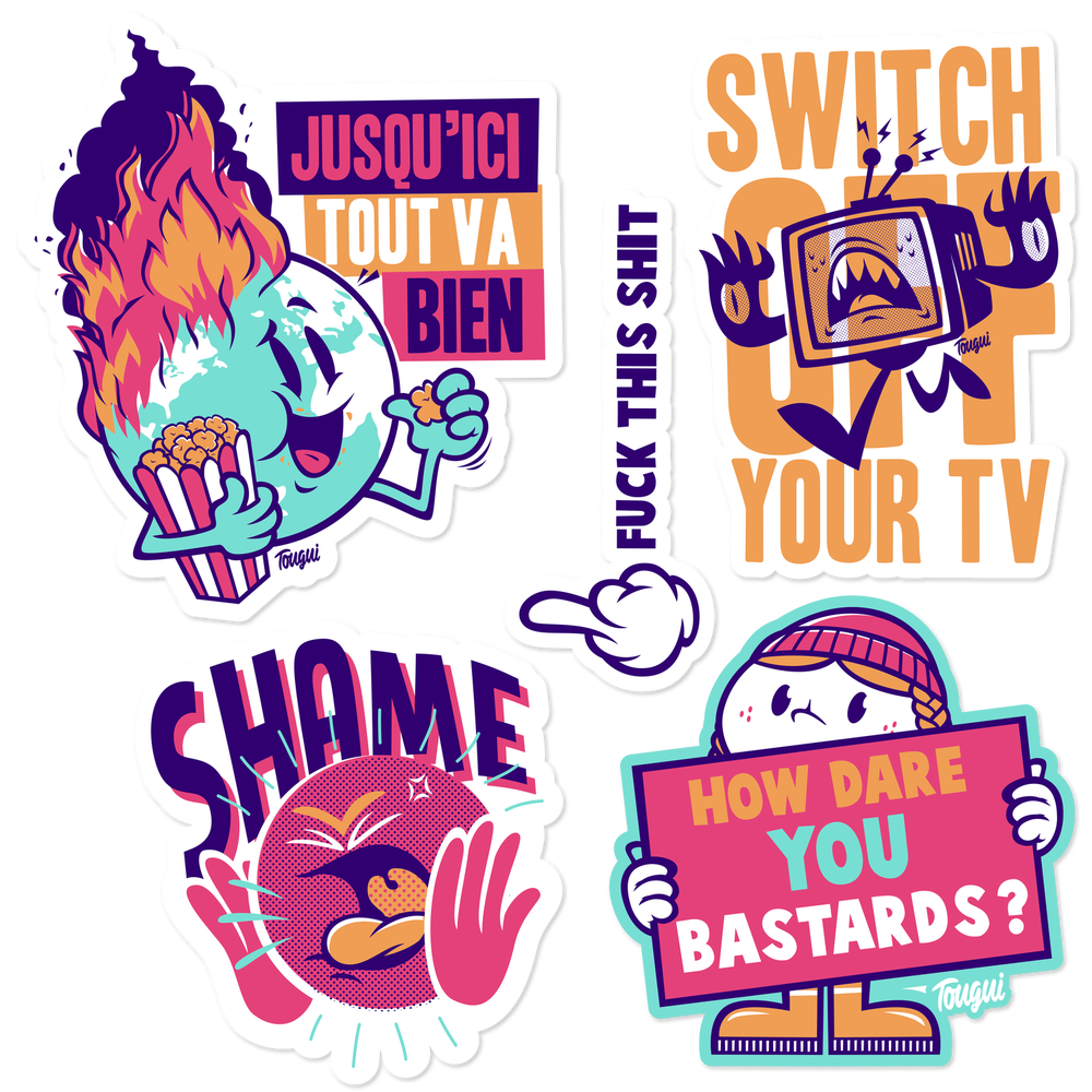 Image of LE STICKER PACK #9