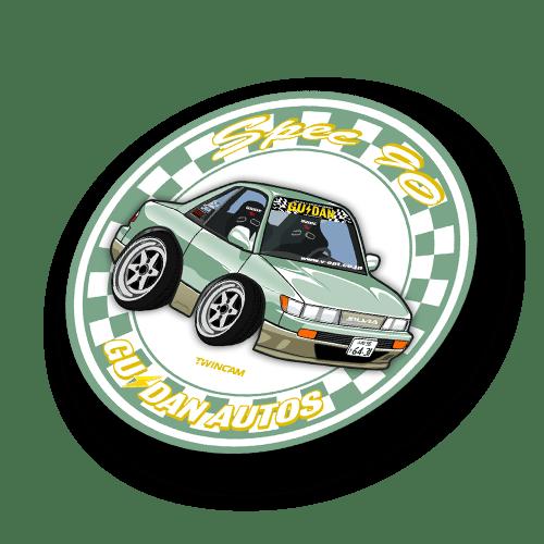 Chibi Silvia Spec 90 Sticker