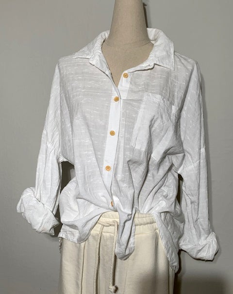 Image of CAMICIA BIANCA CASUAL
