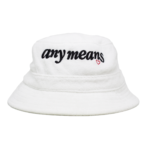 Image of Lover Bucket Hat in Terry Cloth