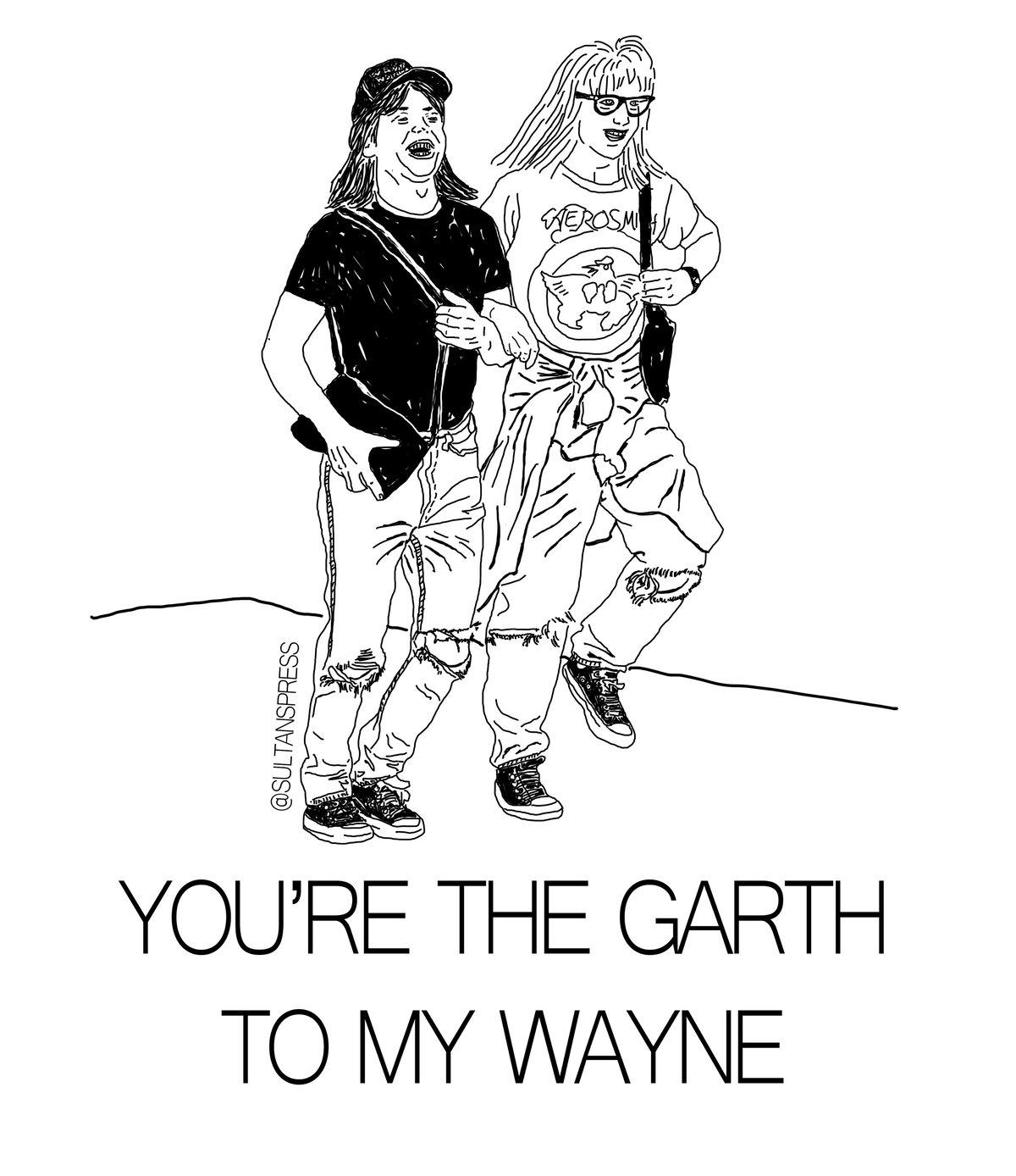 Image of Wayne & Garth