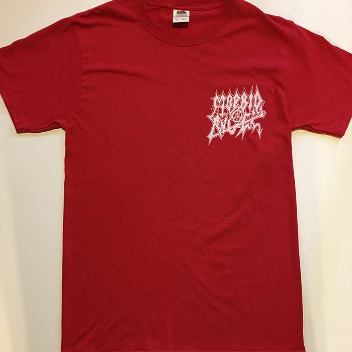 "Image of Morbid Angel "" Logo  "" Pocket print T-shirt"