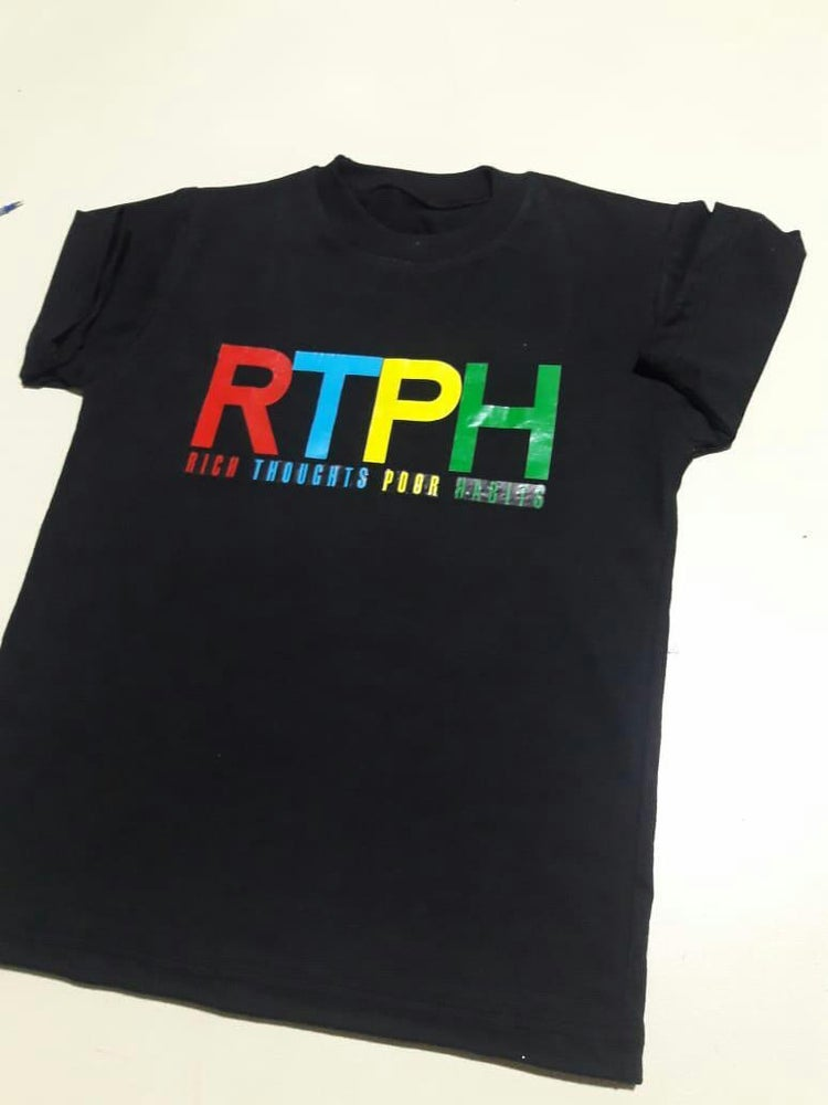 "Image of Kids ""RTPH"" Colorful Shirt"