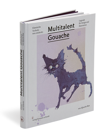 "Image of ""Multitalent Gouache"", signiertes Buch"