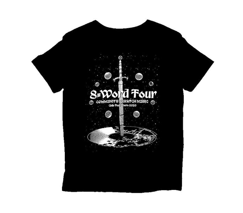 Image of T-SHIRT - Community Skratch S-Word Tour 2020