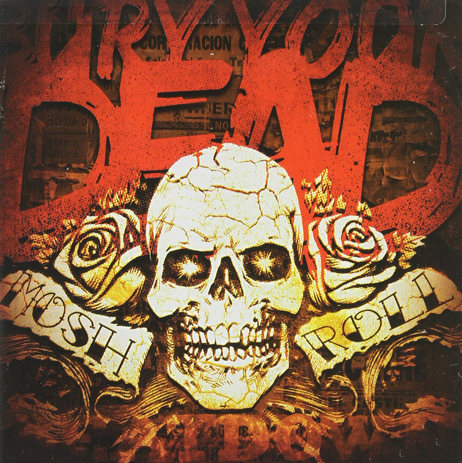"Image of BURY YOUR DEAD ""MOSH N ROLL"" CD"