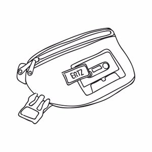 Image of CASETTE BUMBAG