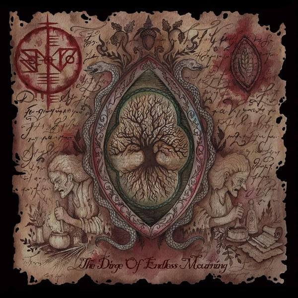 """Image of SCÁTHE NA DÉITHE """"The Dirge Of Endless Mourning"""" CD"""