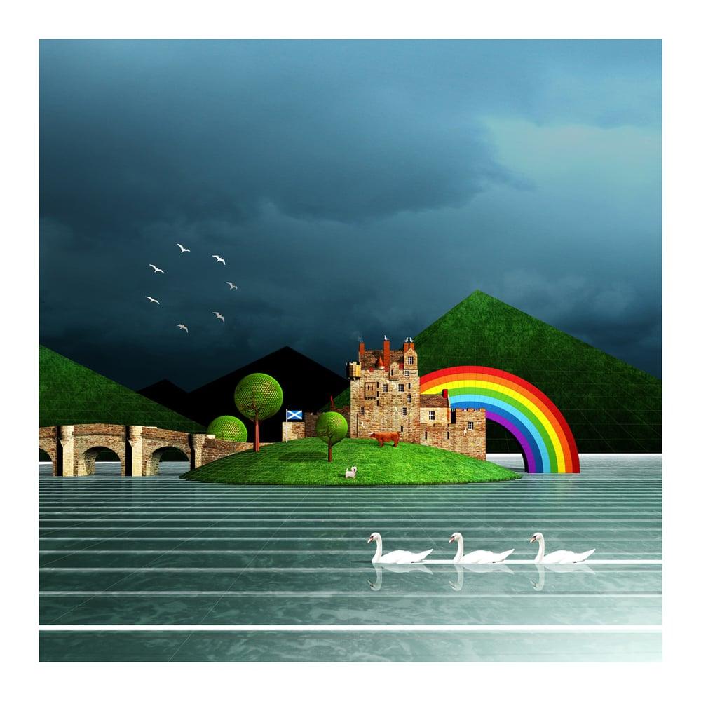 Image of Eilean Donan Castle Art Print