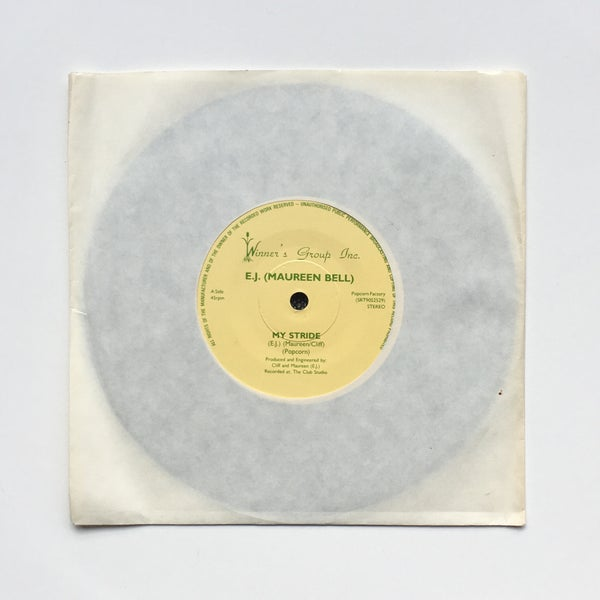 Image of E.J. (Maureen Bell) ‎– My Stride / Pride 7""