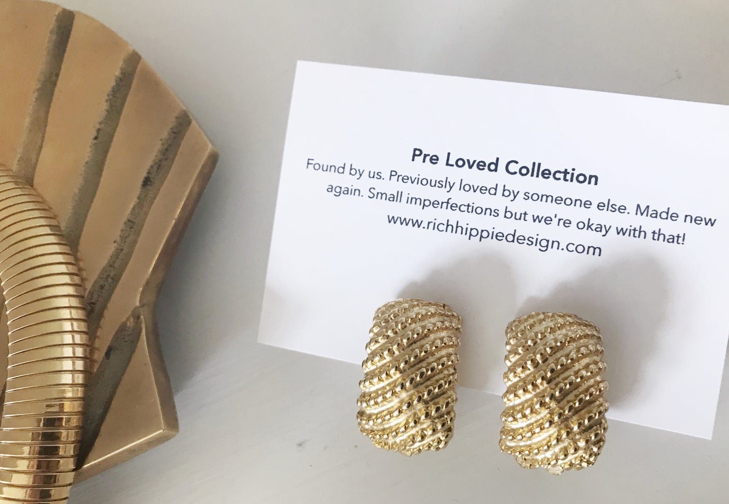 Image of Goldie Earrings #100