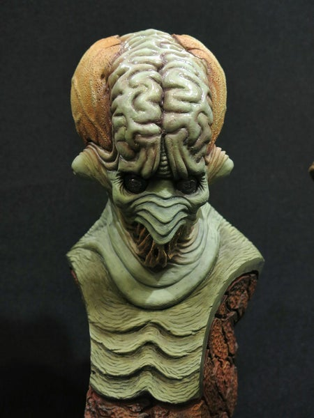 Image of Casey Love Martian Resin Bust (Fully Painted & Model Kit)