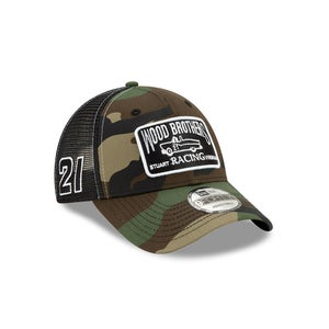 Image of Camo Top Down Trucker