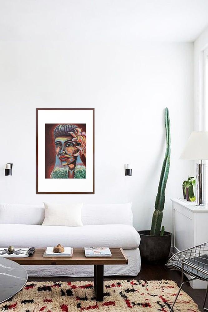 Image of Lady Day Giclée Print Framed